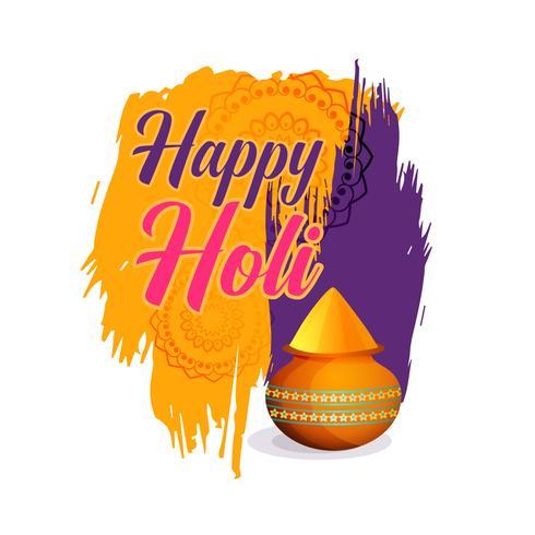 joyeux festival de fond de couleurs holi
