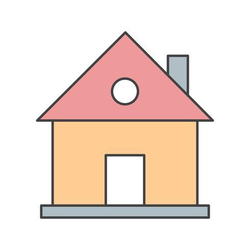 icona di casa vettoriale