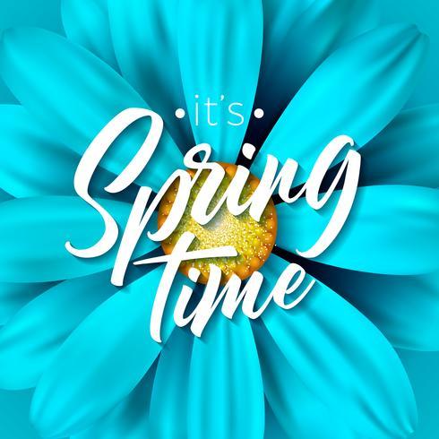 It's spring time illustration
