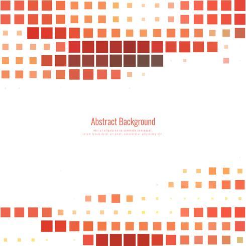 Abstrakt röd mosaik bakgrund