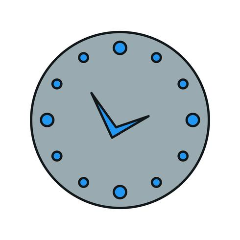 icono de reloj vector