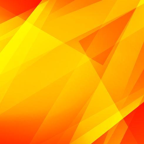 Abstrait moderne lumineux géométrique polygonale jaune