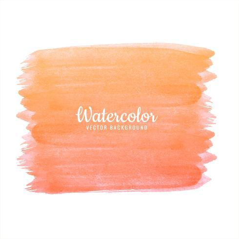 Curso de aquarela colorido abstrato laranja