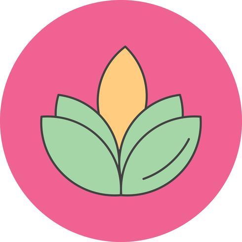 vector bloem diwali pictogram