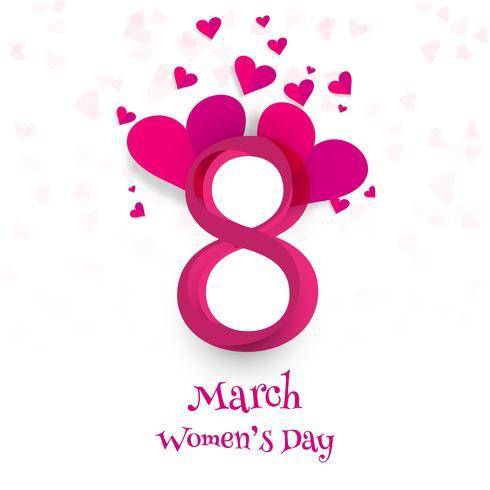Glad Kvinnorsdag firande