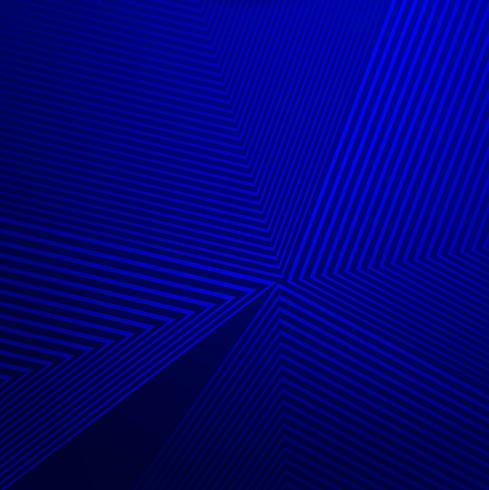Abstrakt blå geometriska linjer bakgrund