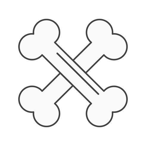 vector bones icon