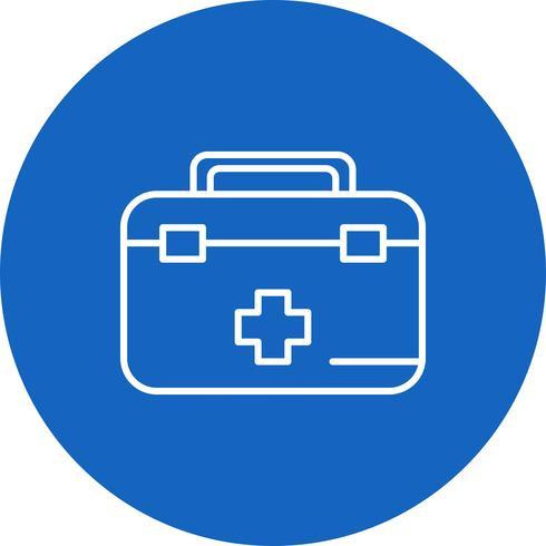 Icono de vector de primeros auxilios