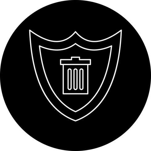 vektor sköld ikon