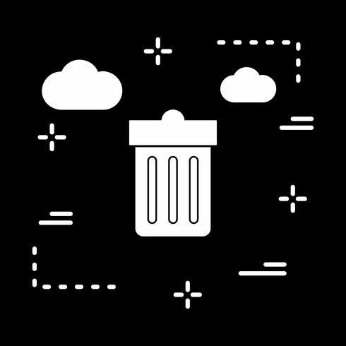 Vektor-Papierkorb-Symbol