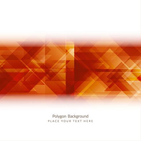 Fond de polygone géométrique moderne