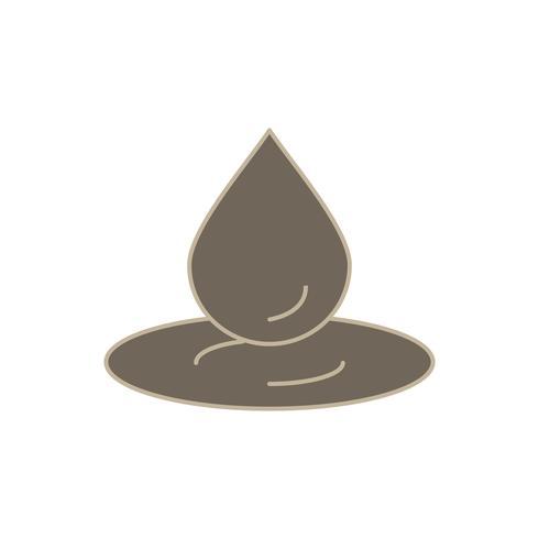 vector waterdruppel pictogram