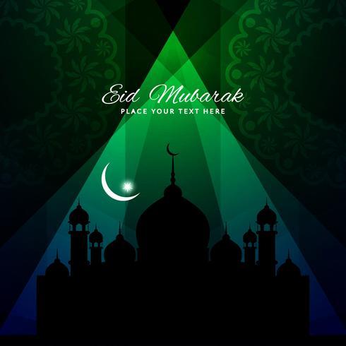 Fondo abstracto de Eid Mubarak