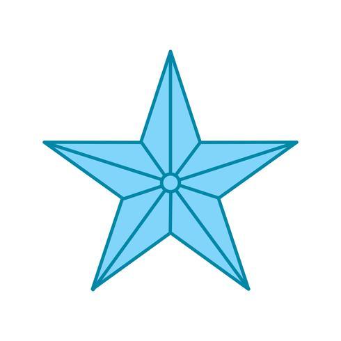 icône étoile de vecteur
