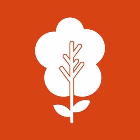vector plant pictogram