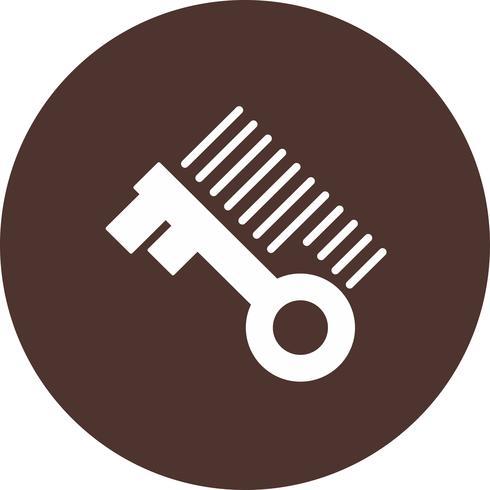 icône clé vectorielle