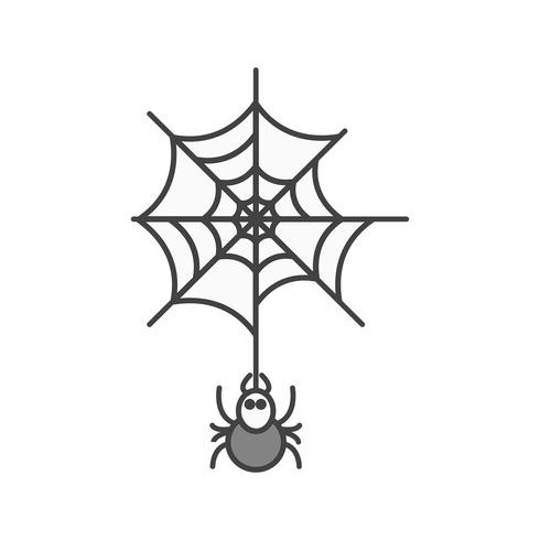 vector spider web icon