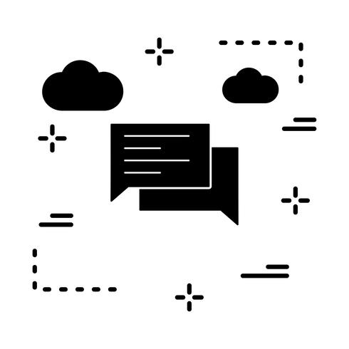 vector chat-pictogram