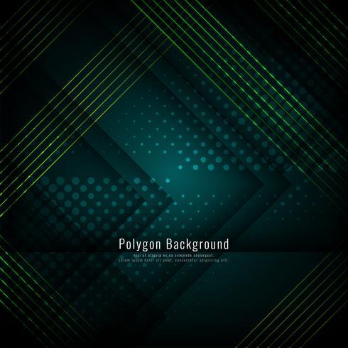 Fondo poligonal con estilo abstracto