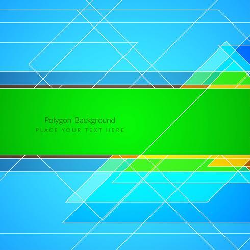 Moderne geometrische veelhoekachtergrond