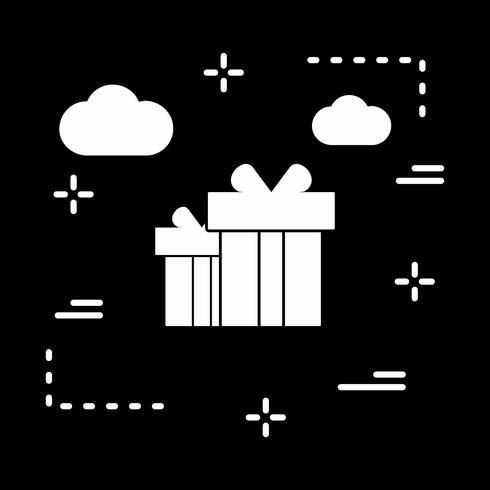 icona regalo vettoriale