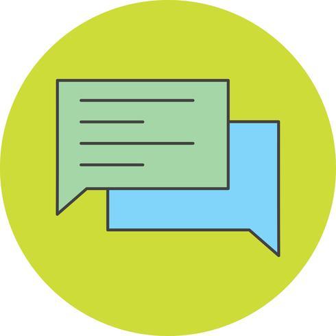 icona della chat vettoriale