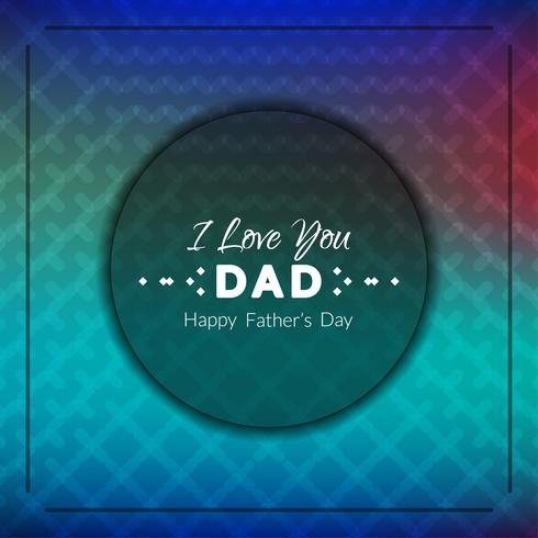 Abstract Father\'s day background