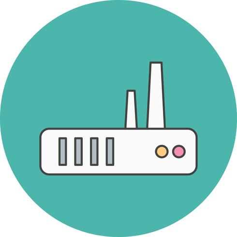 icona del router vettoriale