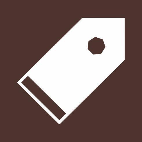icona di tag vettoriale
