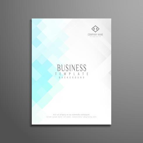 Abstract modern business flyer template