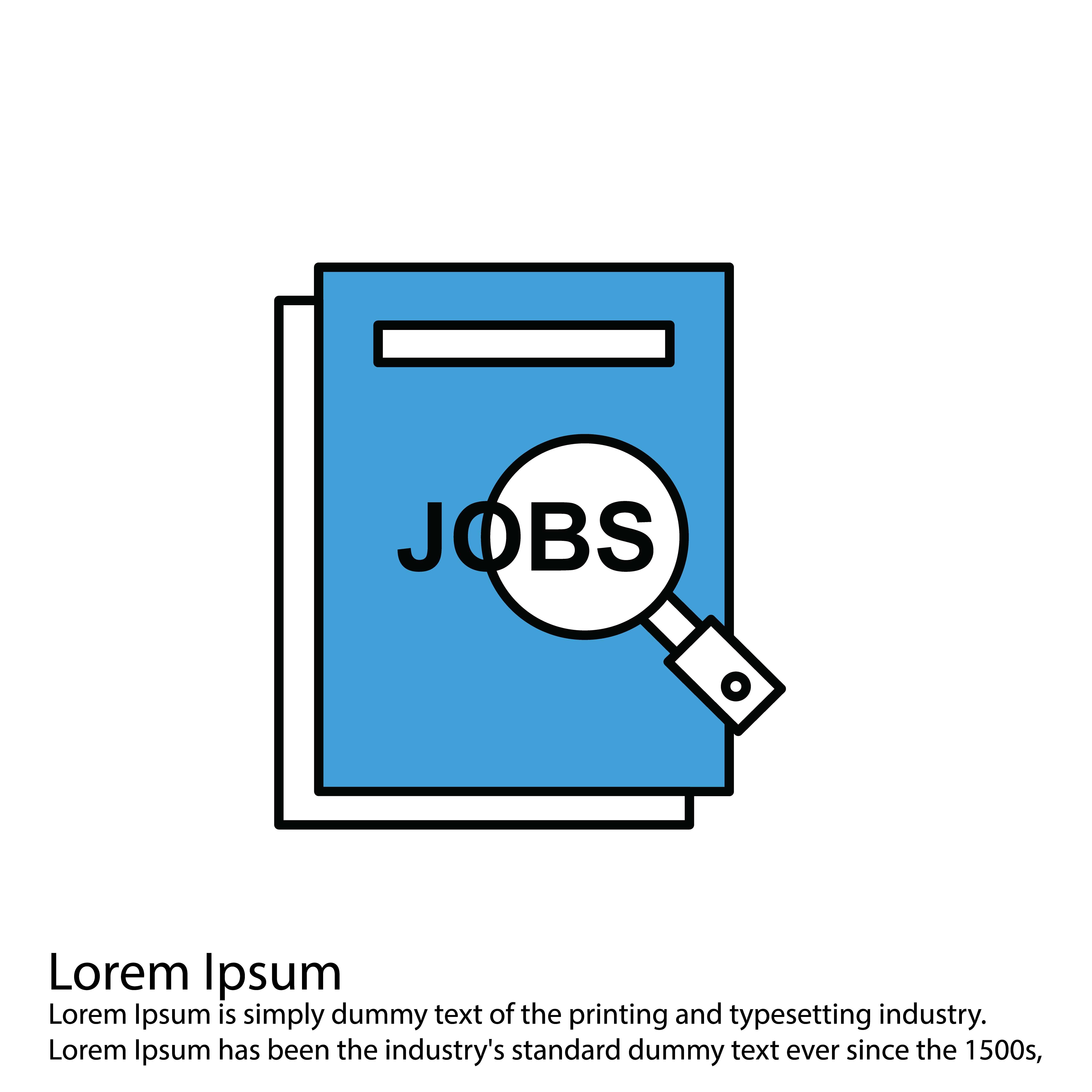 vector jobs icon