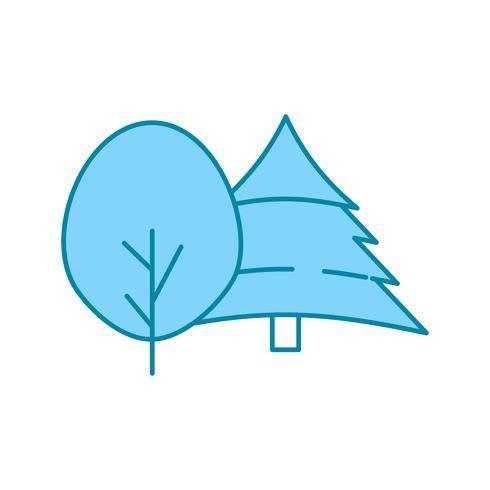 icona della pianta vettoriale