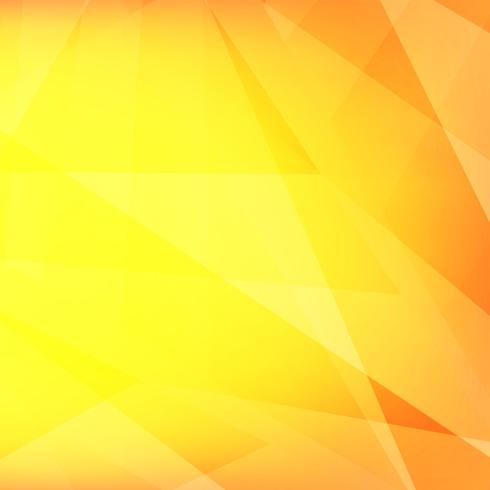 Abstract modern bright yellow polygonal geometric background