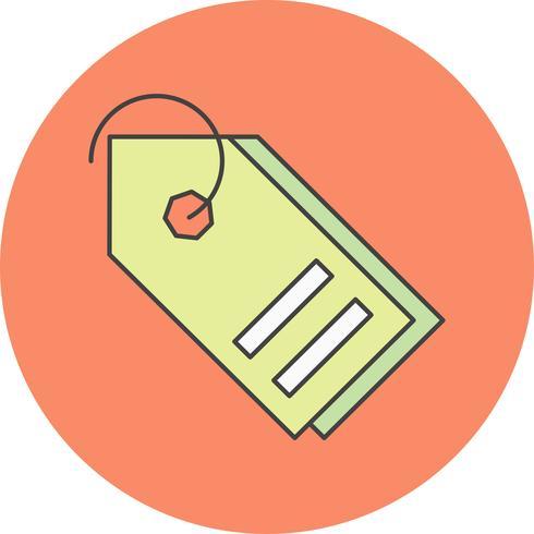 Vektor-Tags-Symbol