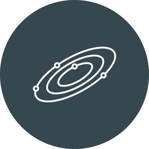Icono de espacio vectorial