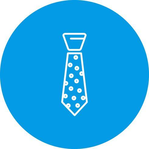 Vektor-Krawatten-Symbol