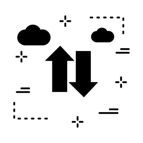 ícone de setas do vetor