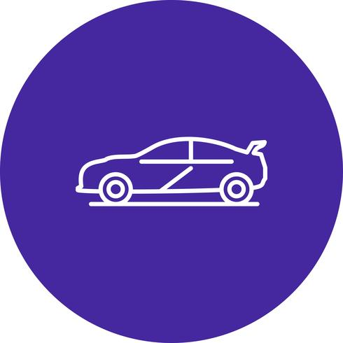 Vector auto pictogram