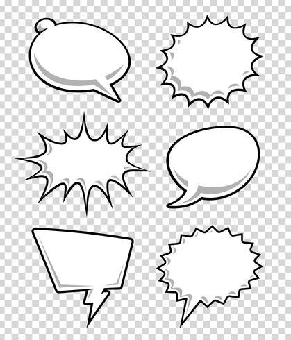 Burbujas de discurso cómico