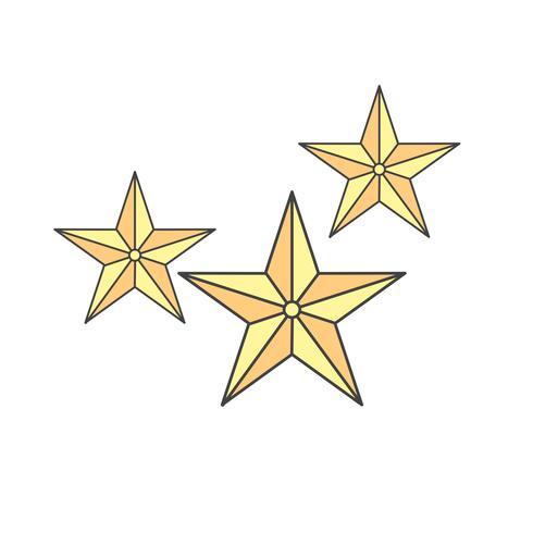Vektor-Stern-Symbol