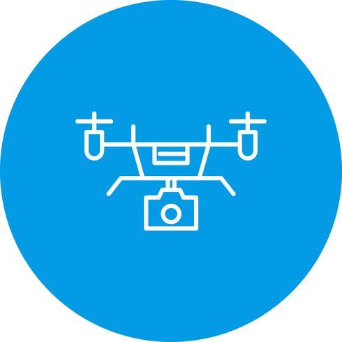 Icona di vettore drone