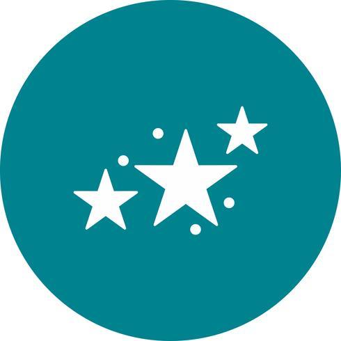 icona di stelle vettoriale