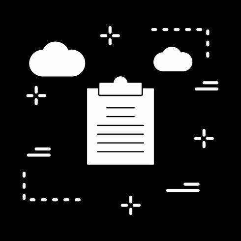 ícone de relatório de vetor