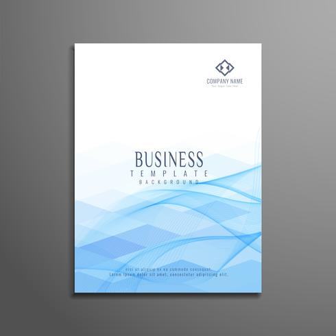 Abstract colorful polygon business modern brochure