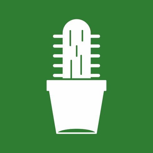 icona della pianta di vettore catcus