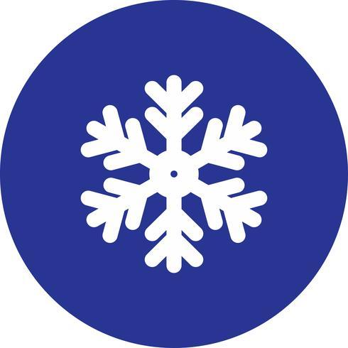 icona di vettore fiocco di neve