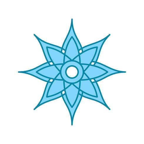 icono de la decoración del vector