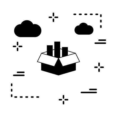 Vektor-Cargo-Box-Symbol