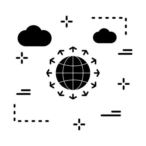 icona del golbe vettoriale