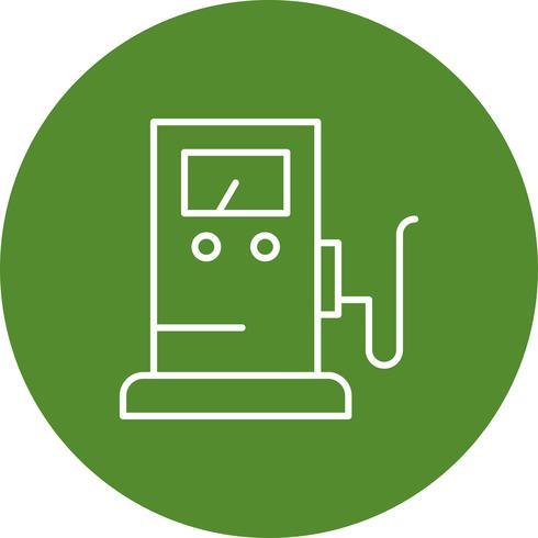 Icona del gas vettoriale